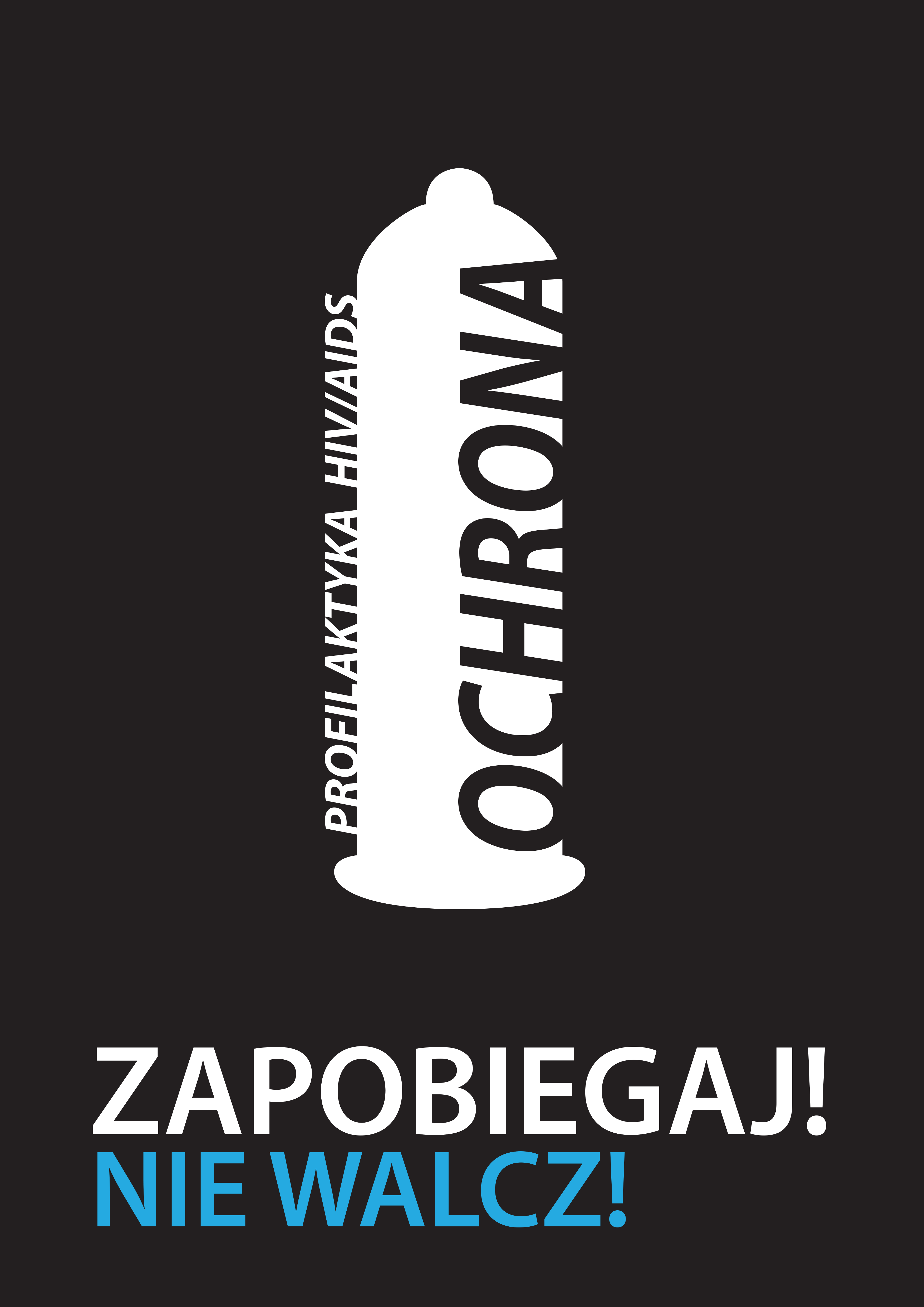 Plakat O Tematyce Walki Z Aids